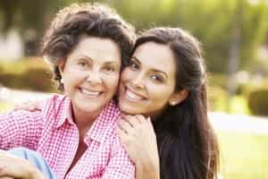 Mum and Daughter - iStock_000048088892_Medium
