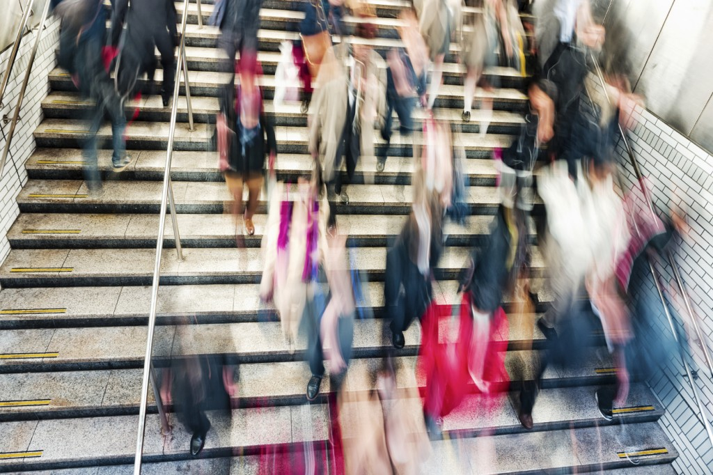 busy stairwell iStock_000069404751_Medium