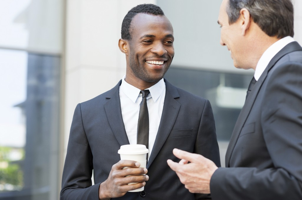 Talking During Coffee Break - iStock_000040820972_Medium