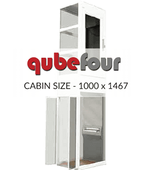 Qube four Home Lift