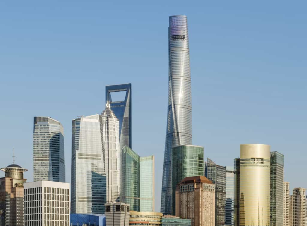 Shanghai Cityscape iStock 000077388351 Medium 1024x755 - Feats of Architecture: The World's Tallest Buildings (Pt 2)