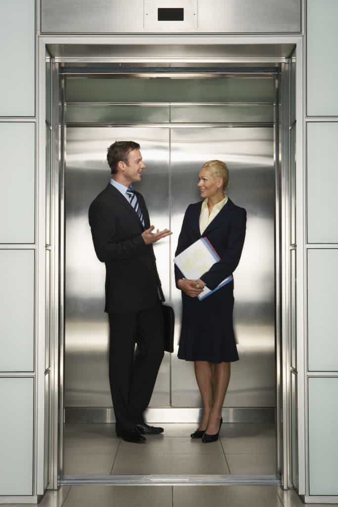 Businesspeople in Elevator iStock 000032083324 XXXLarge 683x1024 - Height of Civilisation: The Etymological Origins of 'Lift'