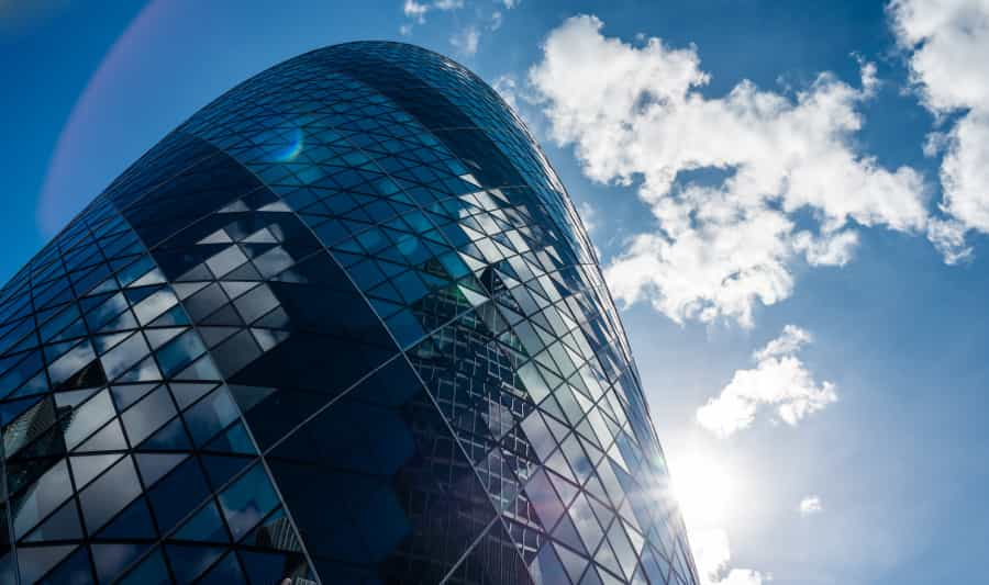 Skyscrapers in the City of London iStock 000061542934 Small - London's Skyline of the Future