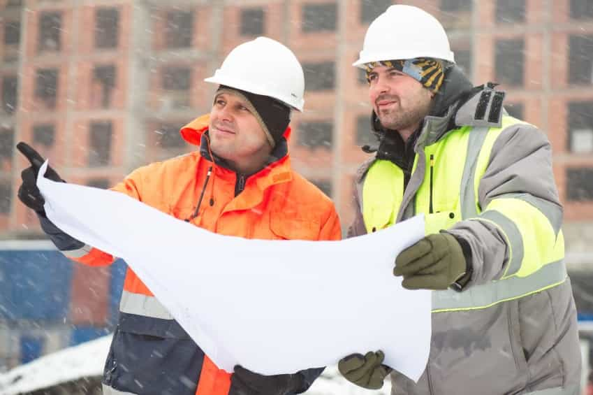 Civil Engineers At Construction Site In Winter Season iStock 000056308458 Small - CONTRACTORS: HOW TO CHOOSE YOUR SUBCONTRACTORS
