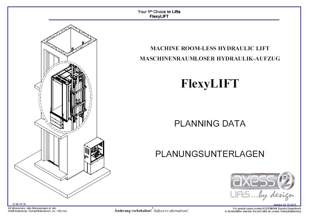 Flexylift Planning Data