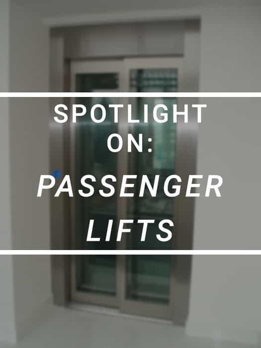 Spotlight on Passenger Lift Custom Image