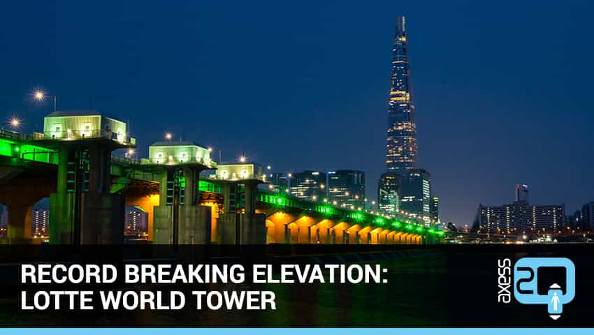 lotteworldtower - Record Breaking Elevation: Lotte World Tower