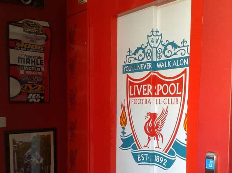 Liverpool FC Lift Design