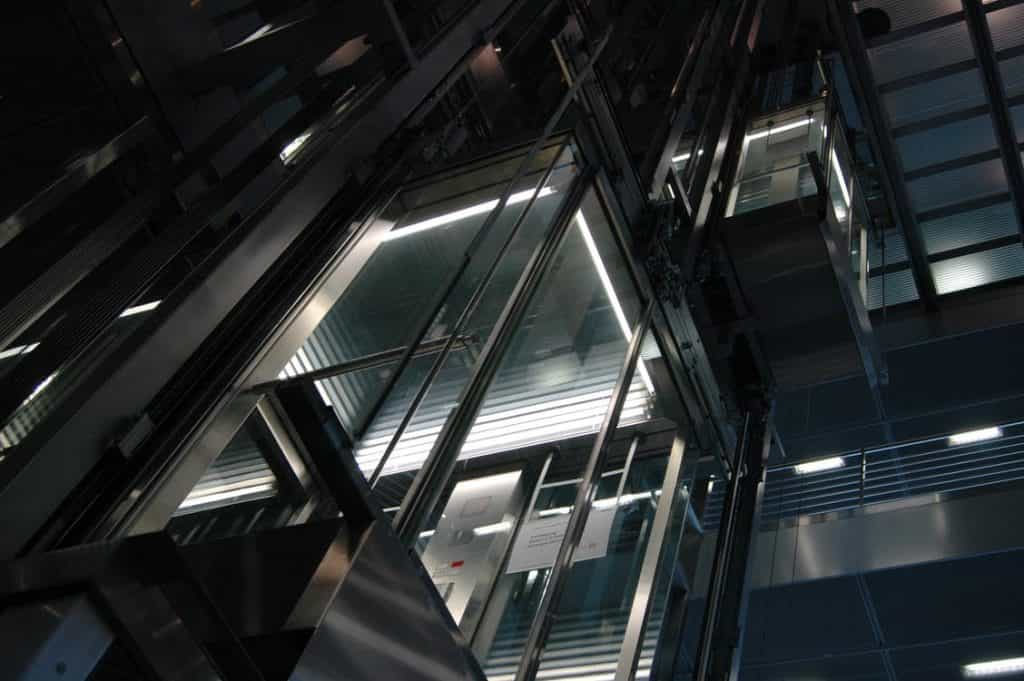 Lift in Skyscraper