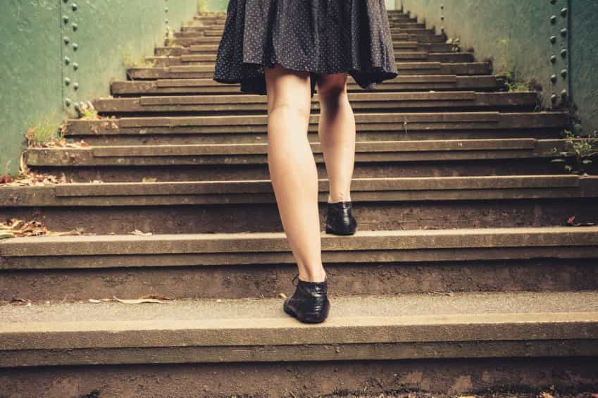 stairs iStock 000050013342 Small - LIFE WITHOUT LIFTS