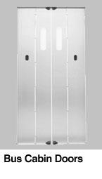Lift cabin bus doors1 - Lift Doors