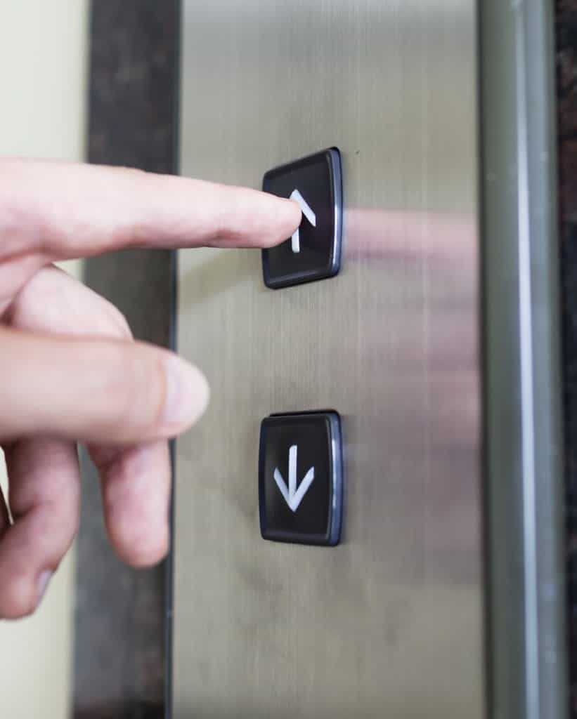 pressing lift button iStock 000056226162 Medium 821x1024 - The Ultimate Guide to Wheelchair Lifts and Their Benefits