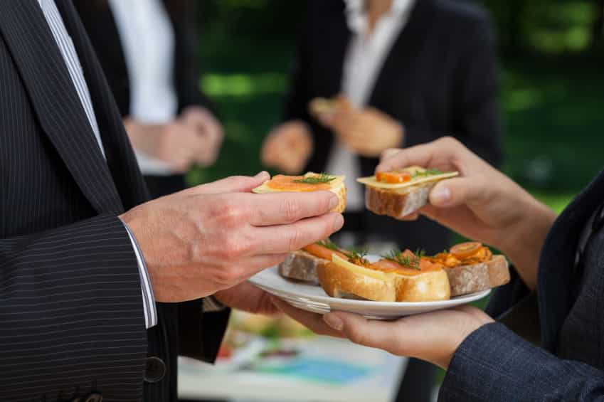 food at business event iStock 000033229114 Small - Is Now the Right Time to Make Changes to Your Commercial Space?