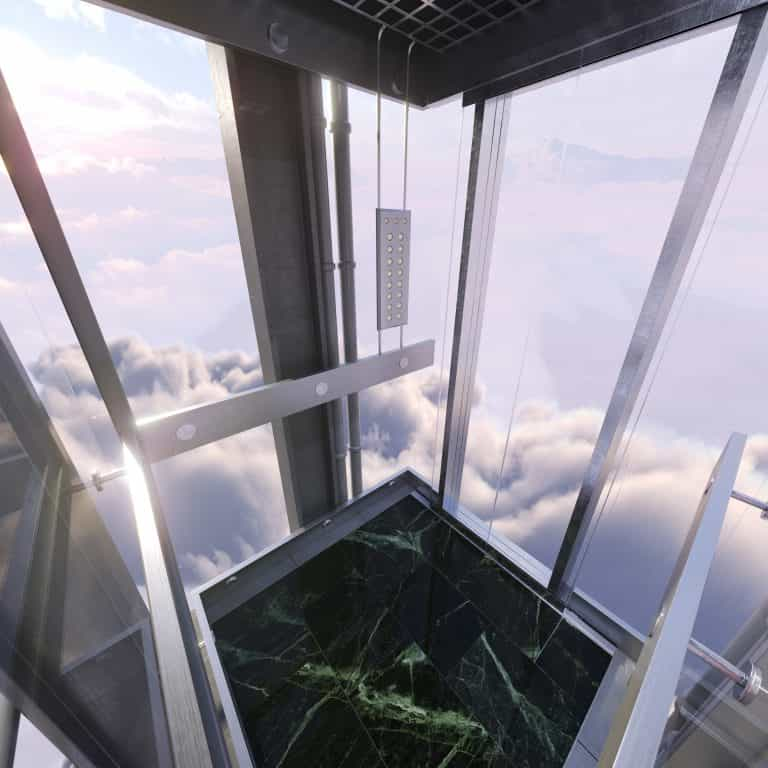 space lift 768x768 - The World's Most Inspirational Lift Designs