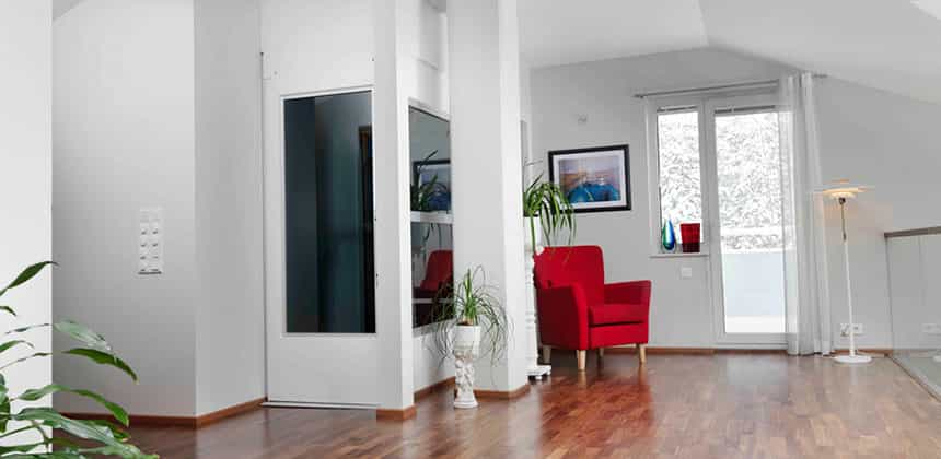 Compact Space Saving - Home Lifts