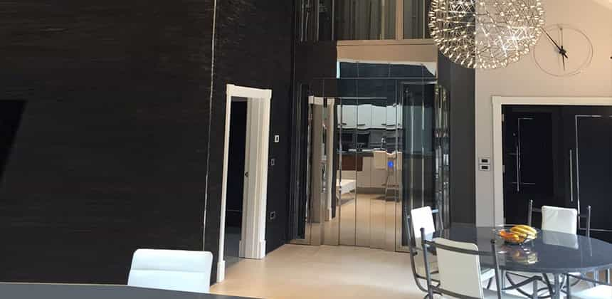 Home Lifts - Pitless passenger lift, installed at Oscars Burnley