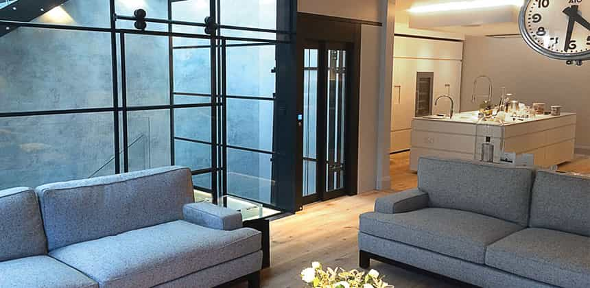 Luxury - Case Study: New Galileo Lift Installed in a Secret Location in London