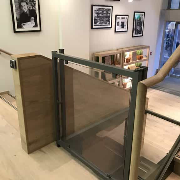 IMG 0878 768x576 575x576 - Case Study: Axess2 Installs Two Lifts at Vapiano Glasgow