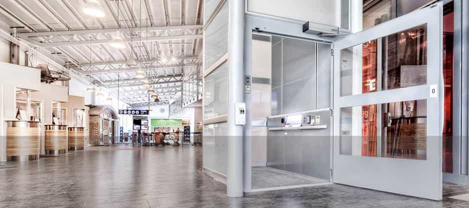 vertical case study image - What's the difference between a platform lift and a passenger lift?