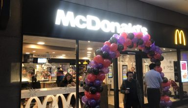 01 384x220 - Mcdonalds take delivery and installation of a goods lift for their new branch!