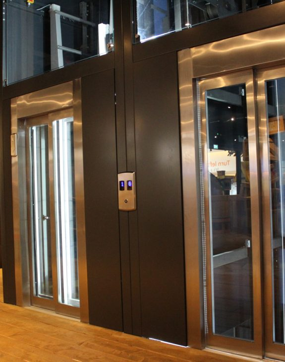 Photo 19 11 2019 12 27 50 575x730 - Twin passenger lifts installed at the new Angry Birds Adventure Golf Centre