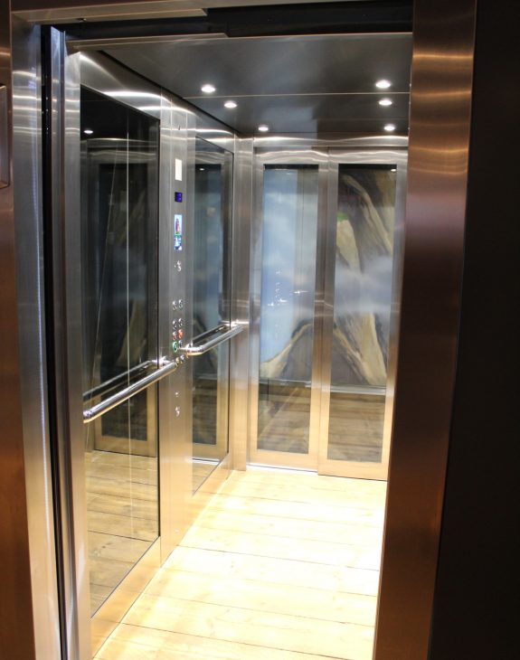 Photo 19 11 2019 12 29 18 575x730 - Twin passenger lifts installed at the new Angry Birds Adventure Golf Centre