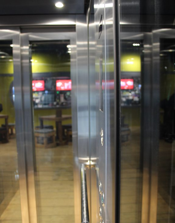 Photo 19 11 2019 12 36 32 575x730 - Twin passenger lifts installed at the new Angry Birds Adventure Golf Centre