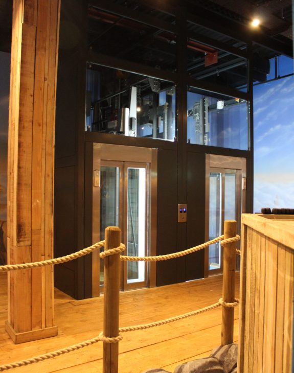Photo 19 11 2019 12 39 43 575x730 - Twin passenger lifts installed at the new Angry Birds Adventure Golf Centre