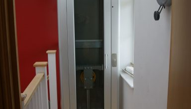 Bristol 2 384x220 - Extremely compact home lift in Bristol
