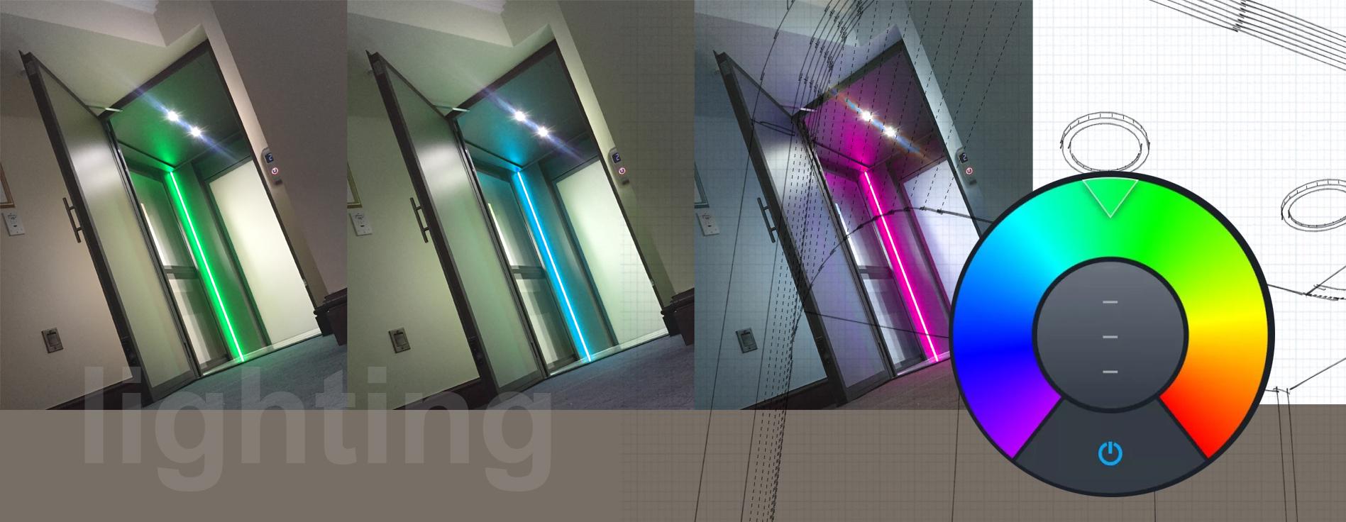 Smart Lighting - Smart Home Lift