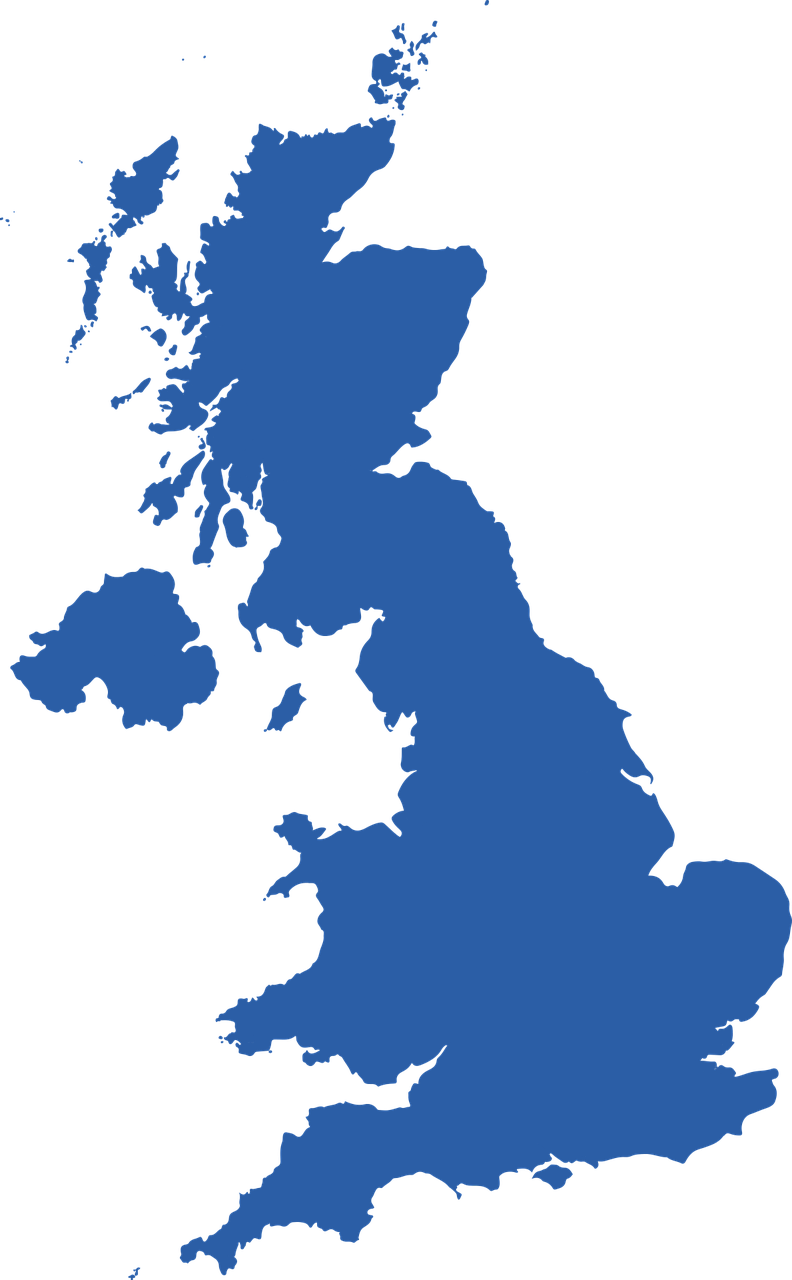 uk map - UK Coverage
