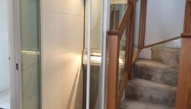 Qube Home Lift 1 384x220 - Qube home lift was the ideal solution!