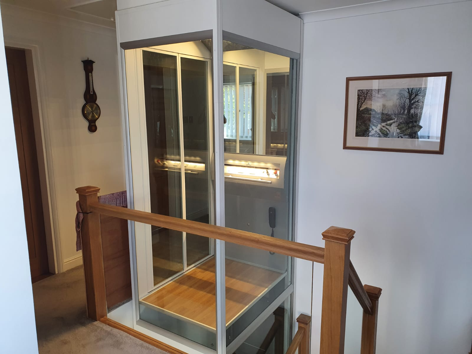 Qube Home Lift 2 - Qube home lift was the ideal solution!