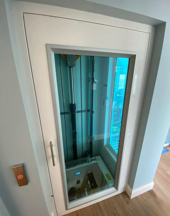 home lift installation 575x730 - Hydraulic Home Lift Installation in West Sussex
