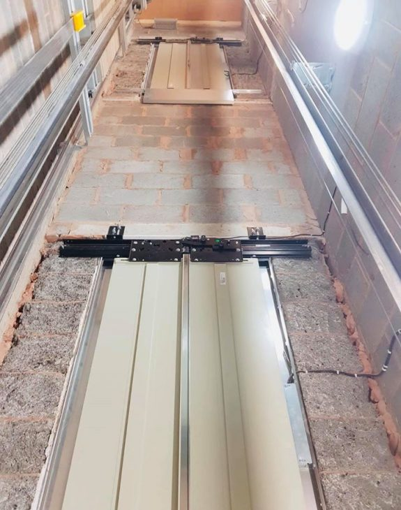 lift shaft built for new home lift 575x730 - Luxury Lift Installation in Cheshire