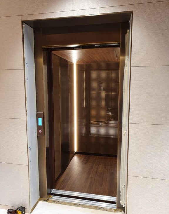 luxury lift installation 3 575x730 - Luxury Lift Installation in Glasgow