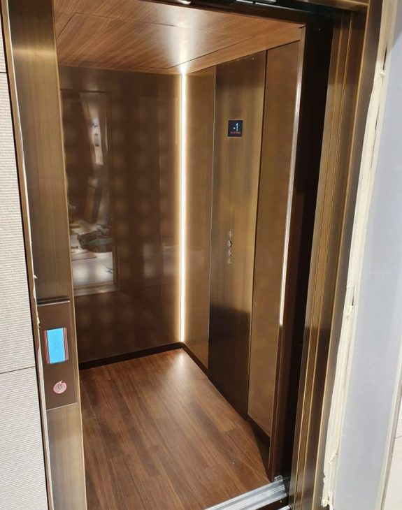 luxury lift installation 575x730 - Luxury Lift Installation in Glasgow