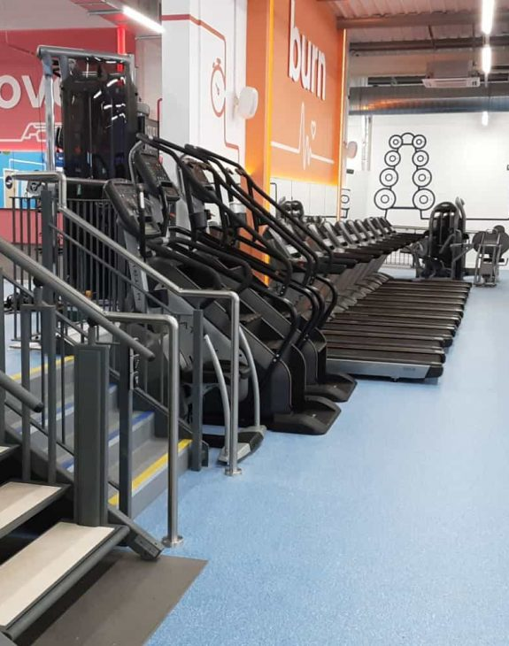 Flexistep Platform Lift Installed at The Gym
