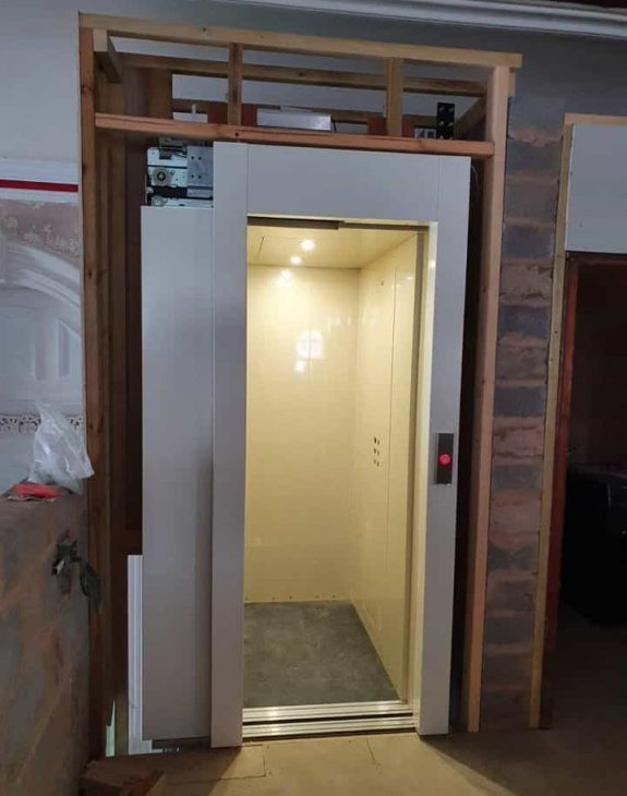 Hydraulic home lift 575x730 - Former 19th Century Chapel
