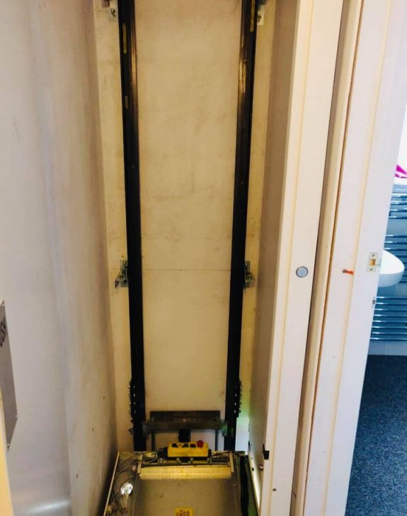 Home lift suffolk 4 575x730 - Hydraulic Home Lift Installation in Suffolk