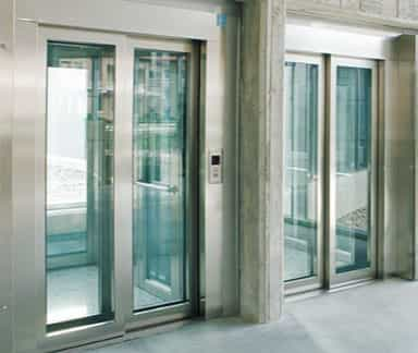 Silens Pro Top lift image - Passenger Lifts For New Buildings